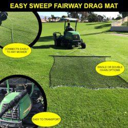 Easy Sweep Fairway Drag Nets