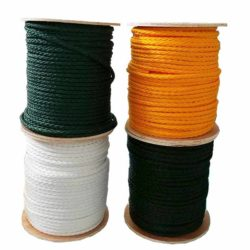"""500' 1/2"""" braided golf course rope"""